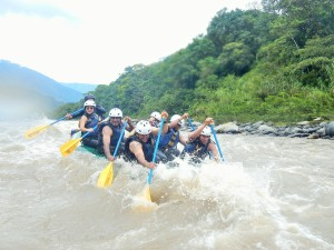 White River rafting down the Rio Blanca.